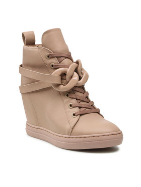 Carinii Carinii Sneakersy B7627 Beżowy