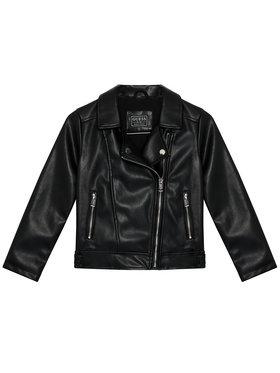 Guess Guess Műbőr dzseki J1YL00 WAEI0 Fekete Regular Fit
