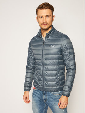 EA7 Emporio Armani EA7 Emporio Armani Пухено яке 8NPB01 PN29Z 1984 Сив Regular Fit