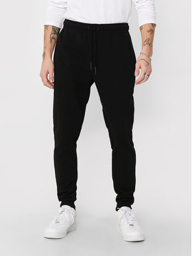 Only & Sons ONLY & SONS Pantaloni trening Ceres 22018686 Negru Regular Fit