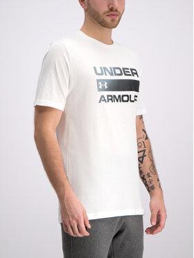 Under Armour Under Armour Póló Ua Team Issue Wordmark 1329582 Fehér Regular Fit