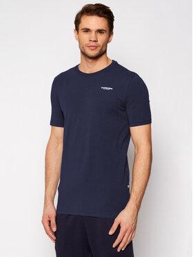 G-Star Raw G-Star Raw T-Shirt Base D19070-C723-6067 Granatowy Slim Fit