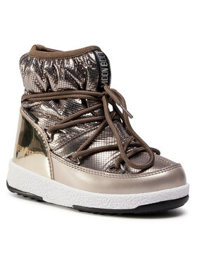 Moon Boot Moon Boot Cizme de zăpadă Jrgirl Low Nylon Premium Wp 34052300001 M Auriu