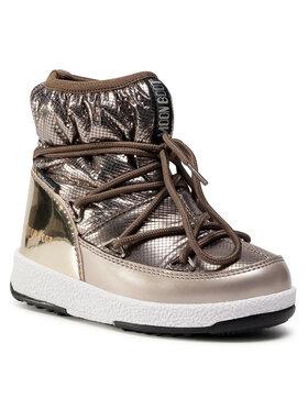 Moon Boot Moon Boot Sněhule Jrgirl Low Nylon Premium Wp 34052300001 M Zlatá