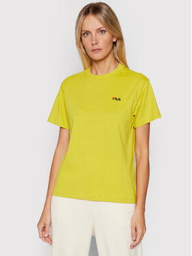 Fila Fila T-Shirt Efrat 689117 Zielony Regular Fit