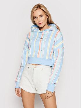 Tommy Jeans Tommy Jeans Bluză Stripe DW0DW10972 Colorat Regular Fit