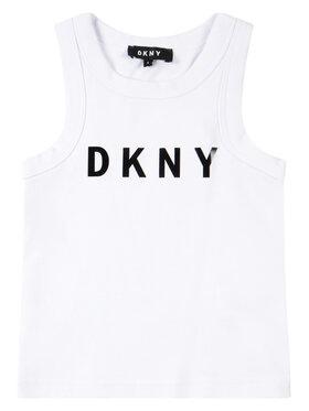 DKNY DKNY Top D35Q48 M Biały Regular Fit