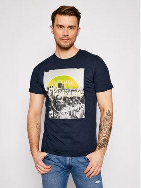 Jack&Jones Jack&Jones Marškinėliai Lyric 12189463 Tamsiai mėlyna Regular Fit