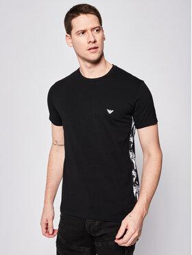 Emporio Armani Underwear Emporio Armani Underwear Póló 111892 0P508 00020 Fekete Regular Fit