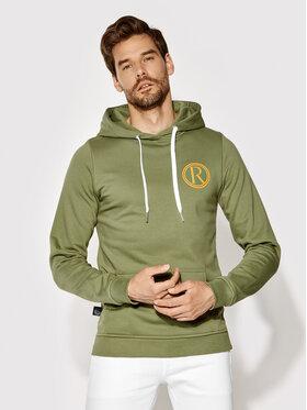 Rage Age Rage Age Sweatshirt Hooddie 2 Vert Slim Fit