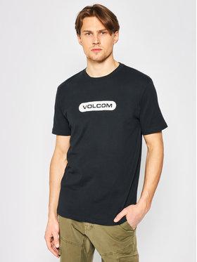 Volcom Volcom T-Shirt New Euro A3512051 Schwarz Modern Fit