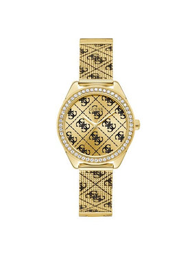 Guess Guess Zegarek Claudia Mesh W1279L2 Złoty