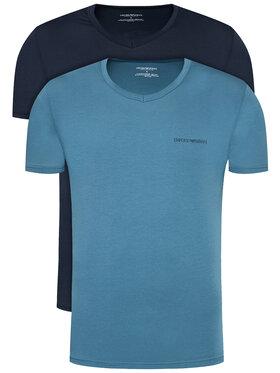Emporio Armani Underwear Emporio Armani Underwear 2-dielna súprava tričiek 111849 0A717 91520 Tmavomodrá Regular Fit