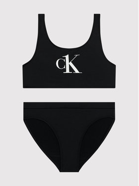 Calvin Klein Swimwear Calvin Klein Swimwear Bikiny G80G800402 Čierna