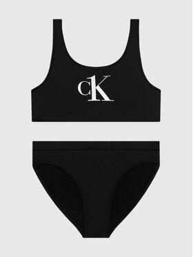 Calvin Klein Swimwear Calvin Klein Swimwear Μαγιό G80G800402 Μαύρο