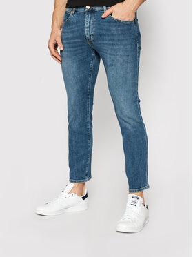 Wrangler Wrangler Slim fit džínsy Larston W18SV777W Modrá Slim Fit