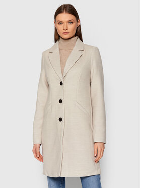 Vero Moda Vero Moda Cappotto di transizione Calacindy 10248270 Beige Regular Fit