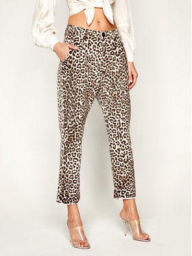 One Teaspoon One Teaspoon Τζιν Relaxed Fit Animal Steetwalkers 23062 Καφέ Relaxed Fit