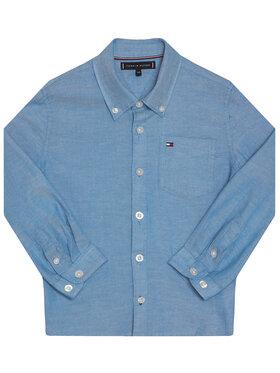 Tommy Hilfiger Tommy Hilfiger Koszula Essential Solid Oxford KB0KB05823 D Niebieski Regular Fit