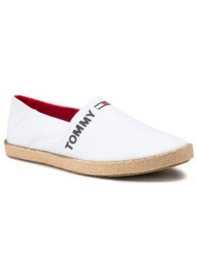 Tommy Jeans Tommy Jeans Espadrilles Logo Espadrille EM0EM00676 Weiß