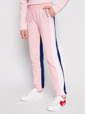Guess Guess Pantaloni trening J1RQ04 KA6R0 Colorat Regular Fit