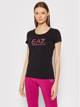 EA7 Emporio Armani EA7 Emporio Armani T-Shirt 8NTT63 TJ12Z 0204 Czarny Slim Fit