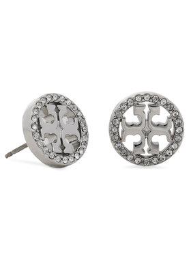Tory Burch Tory Burch Cercei Miller Pave Stud Earring Box 80318 Argintiu