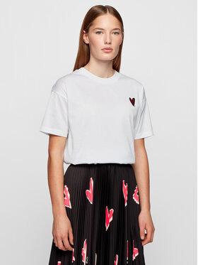 Boss Boss T-shirt Elenas 50444750 Bianco Regular Fit
