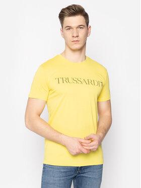Trussardi Jeans Trussardi Jeans T-shirt 52T00305 Giallo Regular Fit