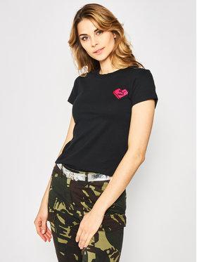 Puma Puma T-shirt Digital Love Tee 597068 Noir Regular Fit