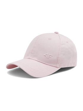 4F 4F Czapka z daszkiem H4L21 CAD004 Różowy