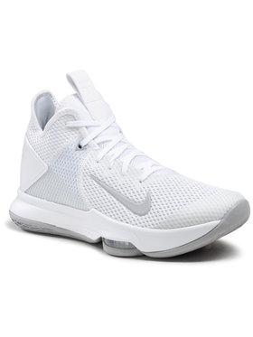 Nike Nike Παπούτσια Lebron Witness IV Tb CV4004 100 Λευκό
