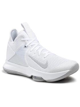 Nike Nike Topánky Lebron Witness IV Tb CV4004 100 Biela