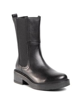Gino Rossi Gino Rossi Členková obuv s elastickým prvkom BRANCH-02 Čierna