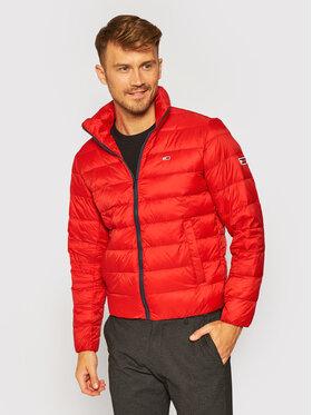 Tommy Jeans Tommy Jeans Geacă din puf Tjm Packable Light DM0DM08678 Roșu Regular Fit