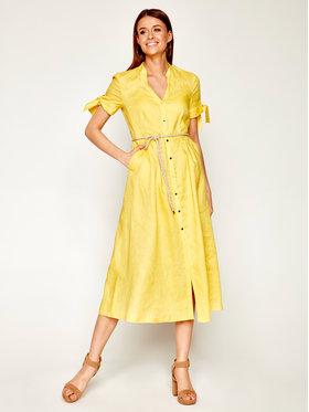 Pennyblack Pennyblack Sukienka koszulowa Manuela 22210420 Żółty Regular Fit