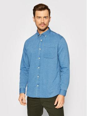 Selected Homme Selected Homme chemise en jean Rick 16077358 Bleu Regular Fit