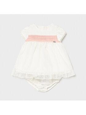 Mayoral Mayoral Φόρεμα κομψό 1819 Λευκό Regular Fit