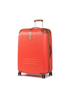 Dielle Dielle Nagy kemény borítású bőrönd 155/70 Piros