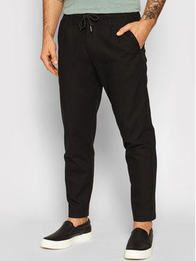 Only & Sons ONLY & SONS Pantaloni di tessuto Leo 22013002 Nero Regular Fit