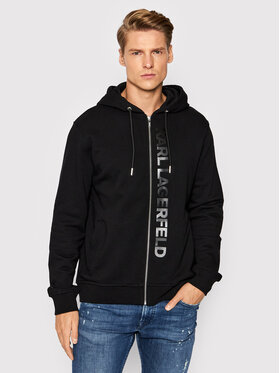 KARL LAGERFELD KARL LAGERFELD Sweatshirt 705041 512910 Schwarz Regular Fit