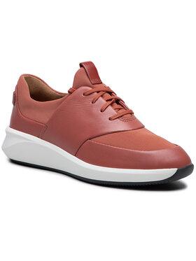 Clarks Clarks Sneakers Un Rio Lace 261568794 Roșu
