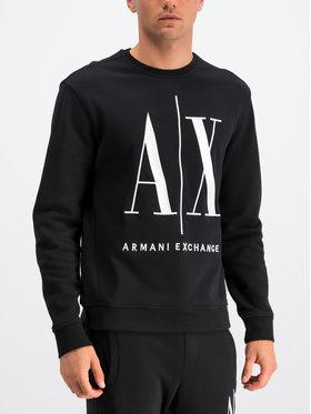 Armani Exchange Armani Exchange Mikina 8NZMPA ZJ1ZZ 1200 Čierna Regular Fit