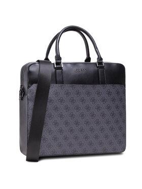 Guess Guess Чанта за лаптоп Vezzola HMVEZL P1113 Черен