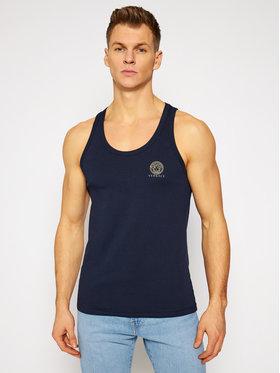 Versace Versace Tank top marškinėliai Medusa AUU01012 Tamsiai mėlyna Regular Fit
