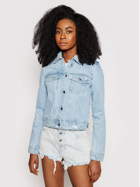 Guess Guess Giacca di jeans W1GN26 D3P31 Blu Regular Fit