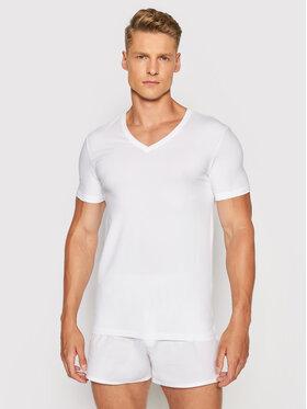 Hanro Hanro Podkoszulek Superior 3089 Biały Slim Fit