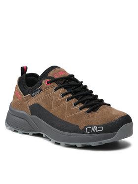 CMP CMP Παπούτσια πεζοπορίας Kaleepso Low Wmn Hiking Shoe Wp 31Q4906 Καφέ