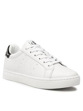 Calvin Klein Jeans Calvin Klein Jeans Sneakers Cupsole Laceup Sneaker YM0YM00284 Blanc