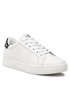 Calvin Klein Jeans Calvin Klein Jeans Sneakersy Cupsole Laceup Sneaker YM0YM00284 Bílá